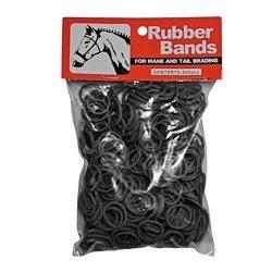 Rubber Bands Mähnengummis schwarz