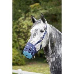 Fressbremse zweifarbig von USG, pferdegerechte Diäthilfe, mit lebensmittelechter Gummibodenplatte, zweifarbig